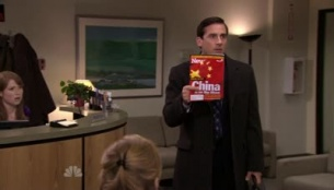 The Office (US) 07x10 : China- Seriesaddict
